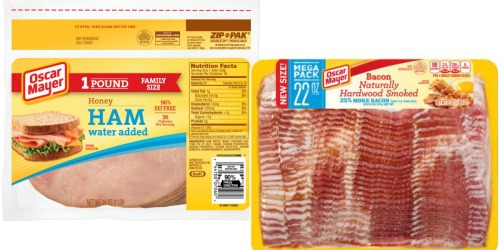Target Shoppers! Save on Oscar Mayer Bacon, Johnsonville Breakfast Sausage & More