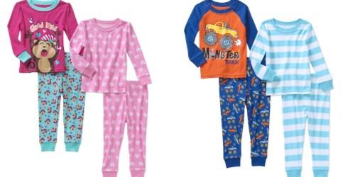 Walmart: Toddler Pajamas 4-Piece Sets Only $4.50 Each (Regularly $9.94)