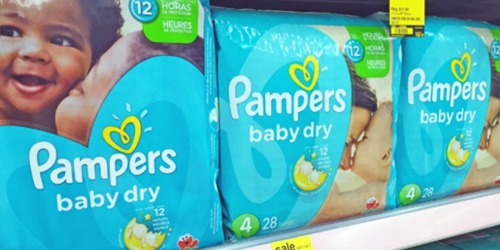 Walgreens: Pampers Swaddlers Jumbo Packs Only $4.99 (After Rewards)