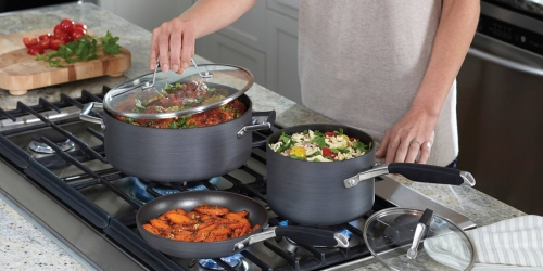 Target.com: Calphalon 8 Piece Non-Stick Cookware Set Only $89.99 Shipped (Regularly $149)