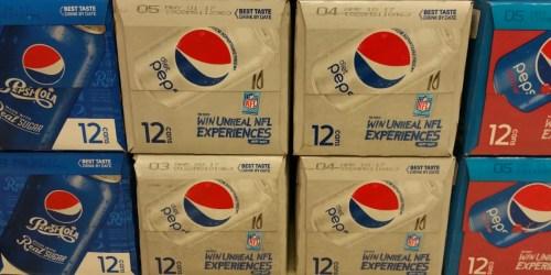 Target: Pepsi 12-Packs as Low as 56¢ Each (After Cash Back) + Nice Deal on 2-Liters
