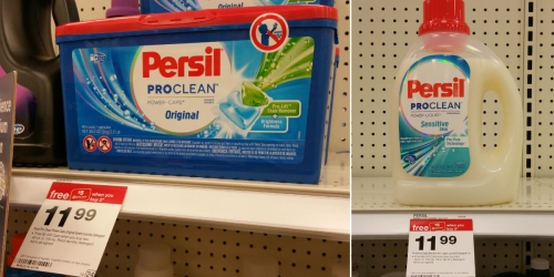 Target: Persil Pro-Clean 100oz Liquid Laundry Detergent Just $6.29 Each (After Gift Card)
