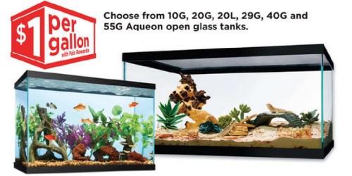 Petco Stores: $1 Per Gallon Aquarium Sale