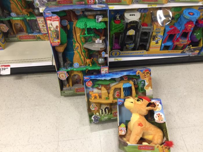 Lion Guard Toys at Target