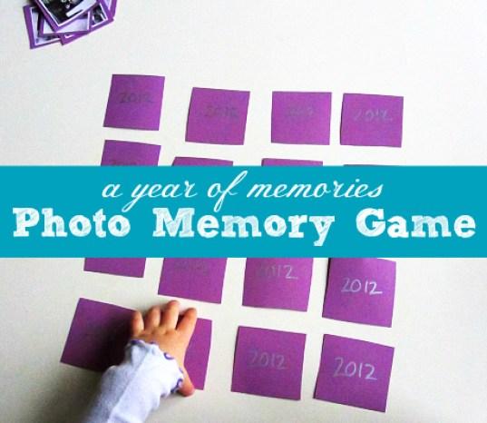 NYE Photo Memory Match Game