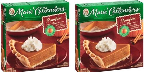 Target: Marie Callender's Pumpkin Pie Only $3.19