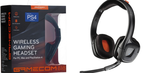 Walmart: Plantronics Gamecom Wireless Stereo Headset Only $19.96 (Regularly $79.96)