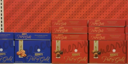 Target: Hershey Pot of Gold Chocolates Only $3