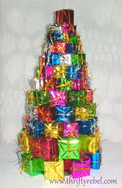 Dollar Store Gift Tree