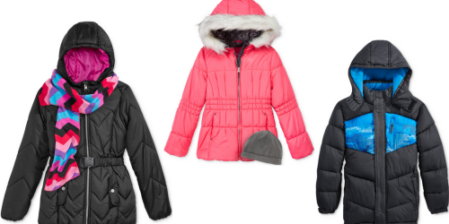 Macy's: Kid's Puffer Jackets Only $19.99 (Regularly Up To $89.50)