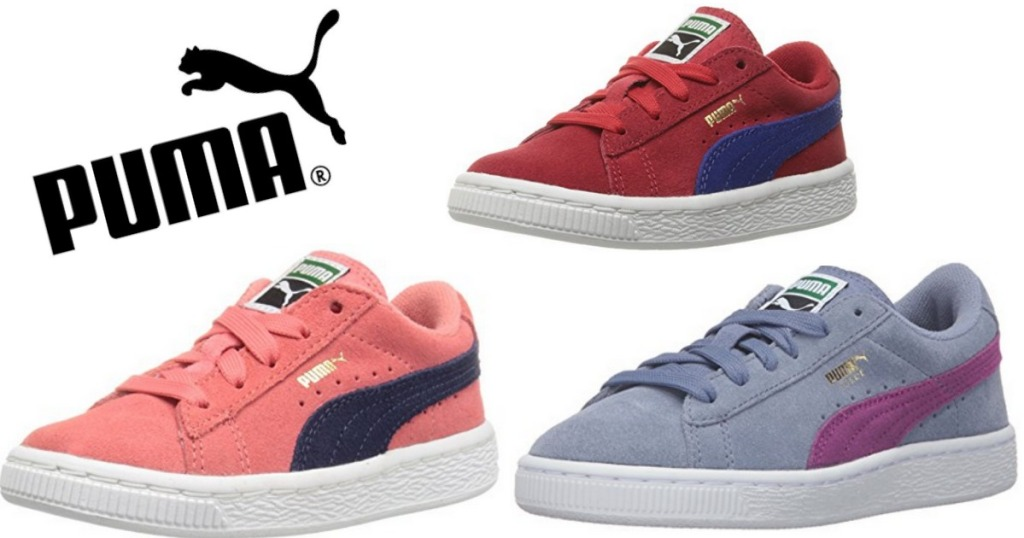 huge selection of 0624a 45c35 Amazon: PUMA Suede Classic Kids Sneakers Starting at ONLY $19.33
