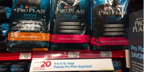 Dog Owners! Purina ProPlan 6 Lb Bags ONLY 50¢ Each at Petco Today Only (Regularly $14.99+)