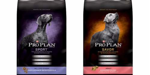 New $8/1 Purina Pro Plan Dog Food Coupon (Any Size & Variety) = ONLY $1.99 For 6 Pound Bag at Petco
