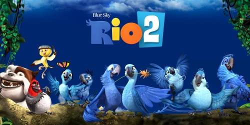 Rio Or Rio 2 Blu-ray + DVD + Digital Copy ONLY $4.99 (Regularly $14.99)