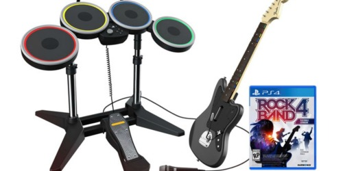 Rock Band Rivals Band Kit w/ Guitar, Drums & More Only $99.99 Shipped (Xbox One & PS4)