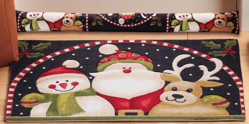 Kohl's: Extra 25% Off Entire Purchase = Holiday Themed Rugs Only $8.99 (Regularly $29.99)