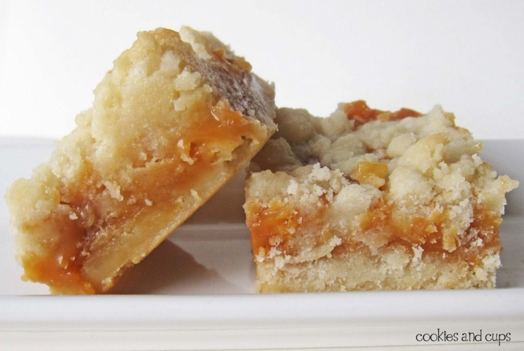 2 salted caramel butter bars
