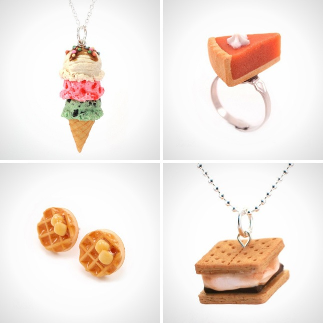 White Elephant Scented Food Jewelry