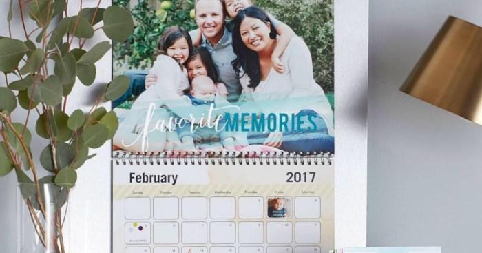 Pampers Rewards Members Possible Free Shutterfly Wall Calendar