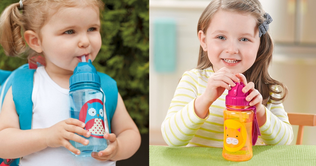 88e54892cfb4 Head on over to Amazon.com where they are offering up select Skip Hop Baby  Zoo Travel-To-Go Flip Top Straw 12oz Bottles for only  4.90 (regularly  7).