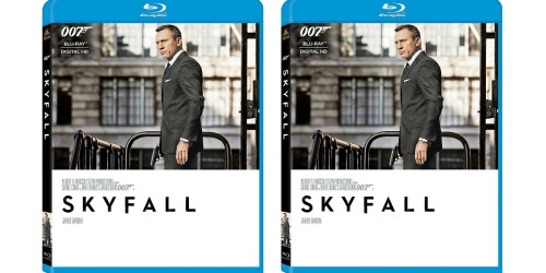 Best Buy: Skyfall on Blu-ray ONLY $3.99 Shipped (Regularly $11.99)