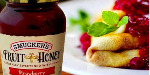 New $1/1 Smucker's Fruit & Honey Fruit Spread Coupon = ONLY $1.34 at Target