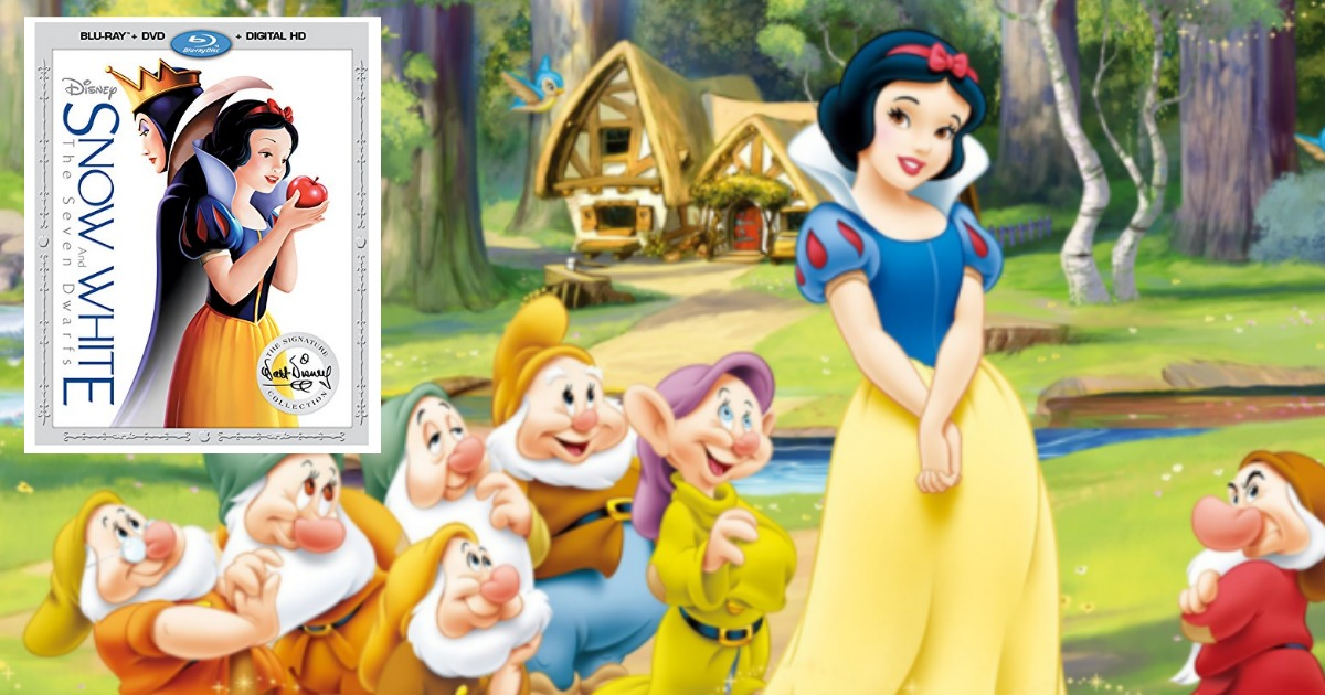 Amazon: Disney Snow White and The Seven Dwarfs Blu-ray + DVD + Digital HD Only $14.75 Shipped