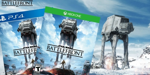 Amazon: Star Wars Battlefront Standard Edition PS4 or Xbox One Video Game Just $9.99 (Reg. $19.99)