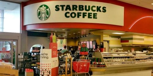 Target Shoppers! 20% Off Starbucks Frappuccino Beverages + 10% Off Starbucks Merchandise