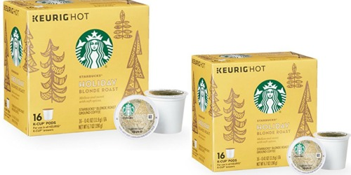 Target: Starbucks Holiday Blonde Roast 16 Count K-Cups Only $4.32 (After Rebate) & More