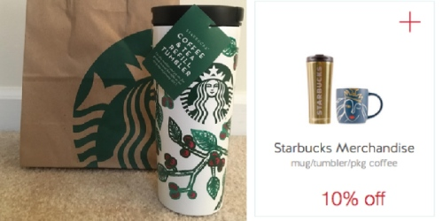 Target: Starbucks Coffee & Tea Refill Tumbler ONLY $36 (Gives You Free Coffee Daily in January)