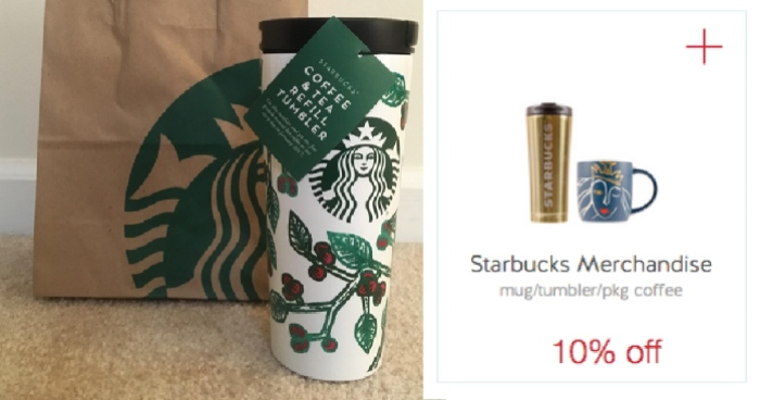 aa6ca8285b5 Target: Starbucks Coffee & Tea Refill Tumbler ONLY $36 (Gives You ...