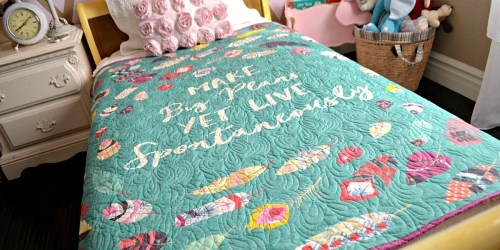 Extra 25% Off Handmade Quilts + Free Wall Hanging Quilt ($79 Value) w/ Select Order