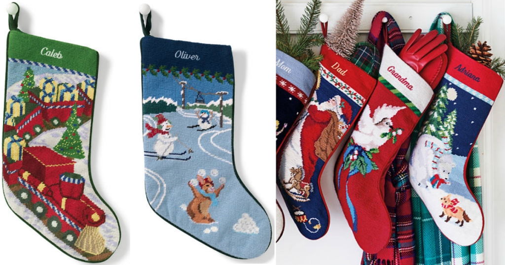 Lands End Christmas Stockings.Lands End 40 Off Entire Order Monogrammed Needlepoint