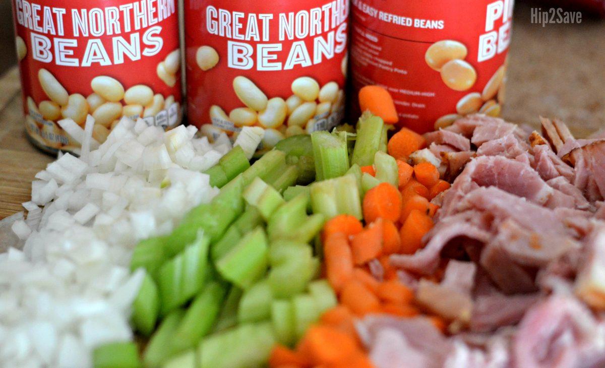 super-easy-ham-bean-soup