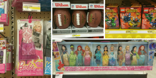 Target: Lots of NEW Toy Cartwheels = Nice Deals On Sports Balls, Barbie Toys & More
