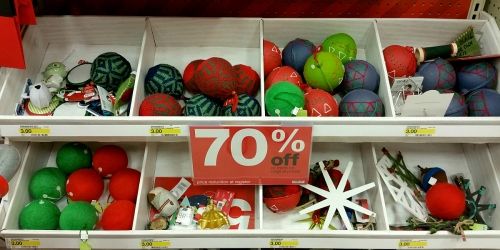Target: Holiday Clearance NOW 70% Off = 38¢ Febreze, 60¢ Ribbon, $1.80 Ornament Sets & More