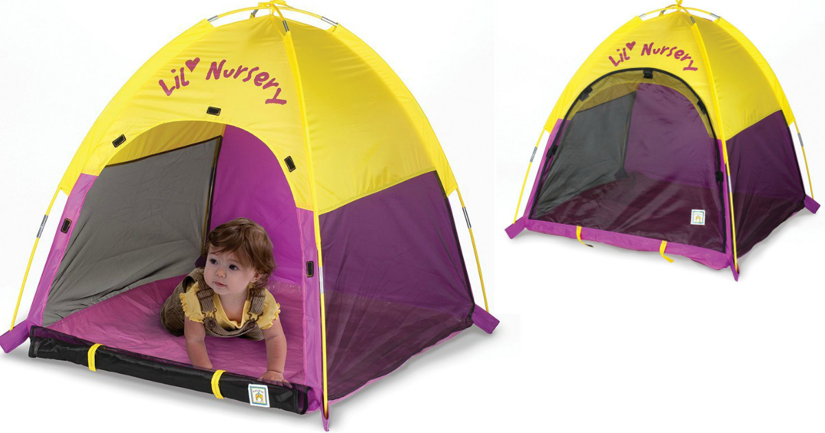 Amazon Pacific Play Tents Lil Nursery Portable Dome Tent