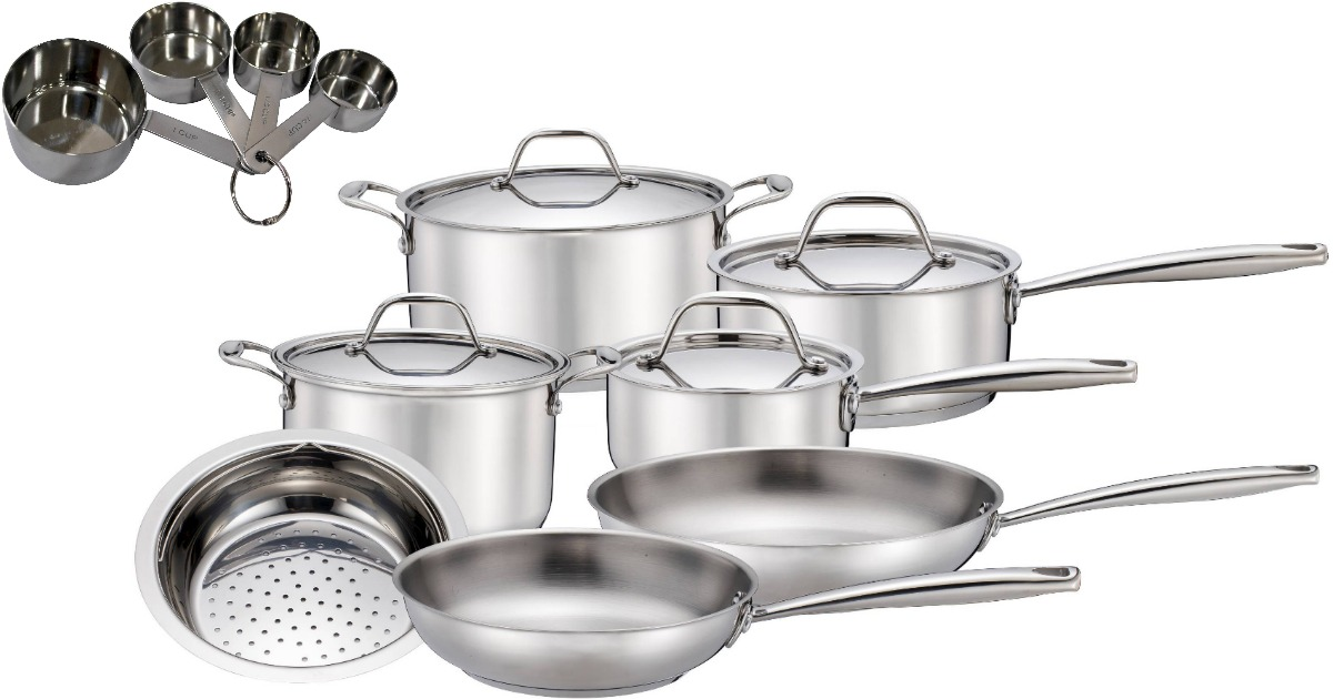 Exceptionnel Target: Stackable Savings On Kitchen Items U003d 11 Piece Cookware U0026 More ONLY  $34.26 Shipped