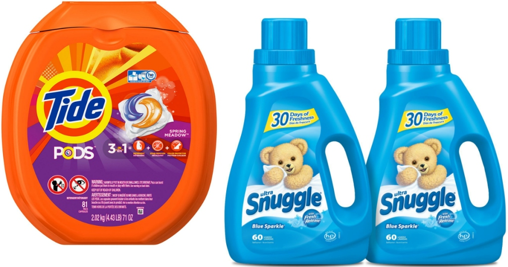 51014f7b62 Amazon  Tide PODS 81-Count Tub Just  13.51 Shipped + Snuggle Fabric ...