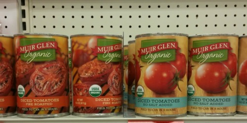 Target: Muir Glen Tomato Products As Low As 50¢