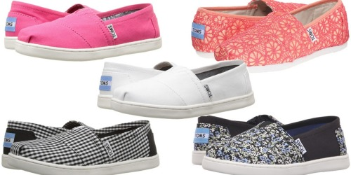 6PM.com: TOMS Kids Classics Only $17.10 (Regularly $42) + More