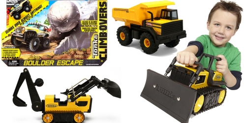 Kohl's: Extra 20% off Select Toys + Extra 25% Off = Tonka 14-Piece Playset Only $8.99 (Regularly $25)