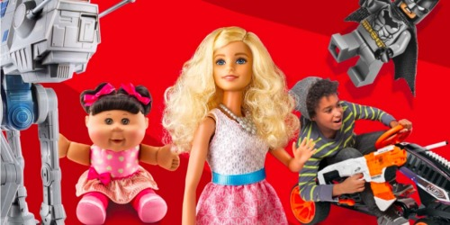 Target: $10 Off $50 or $25 off $100 Toys & Games Purchase = Rare Savings on LEGO Sets