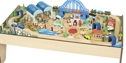 ToysRUs.com: Imaginarium All-in-One Wooden Train Table Only $63.99 Shipped (Reg. $129.99)