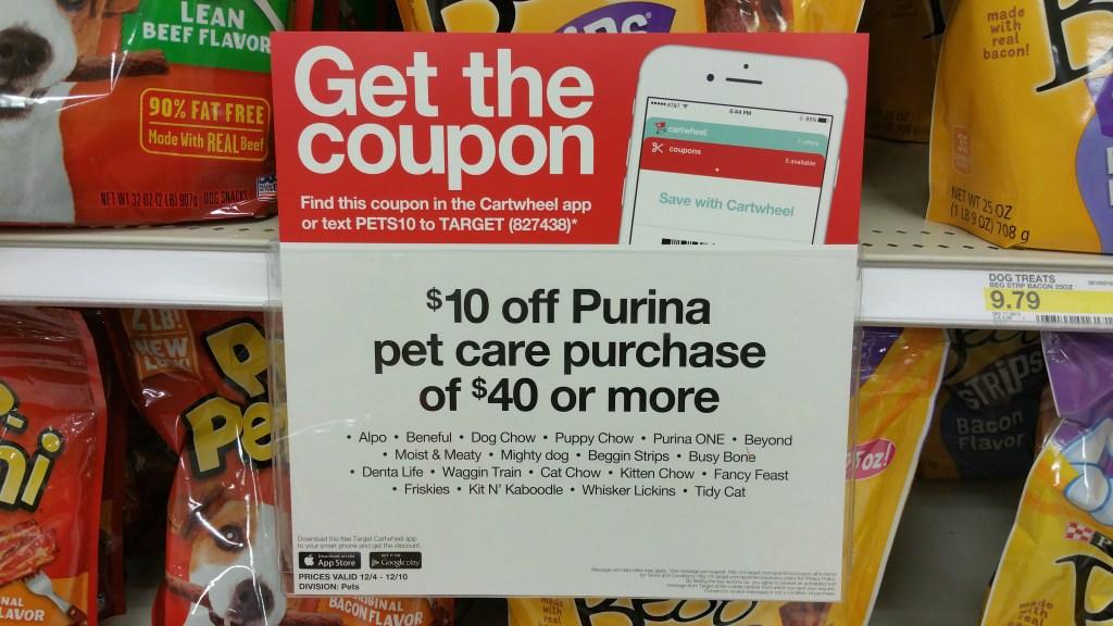 Target Purina Coupon