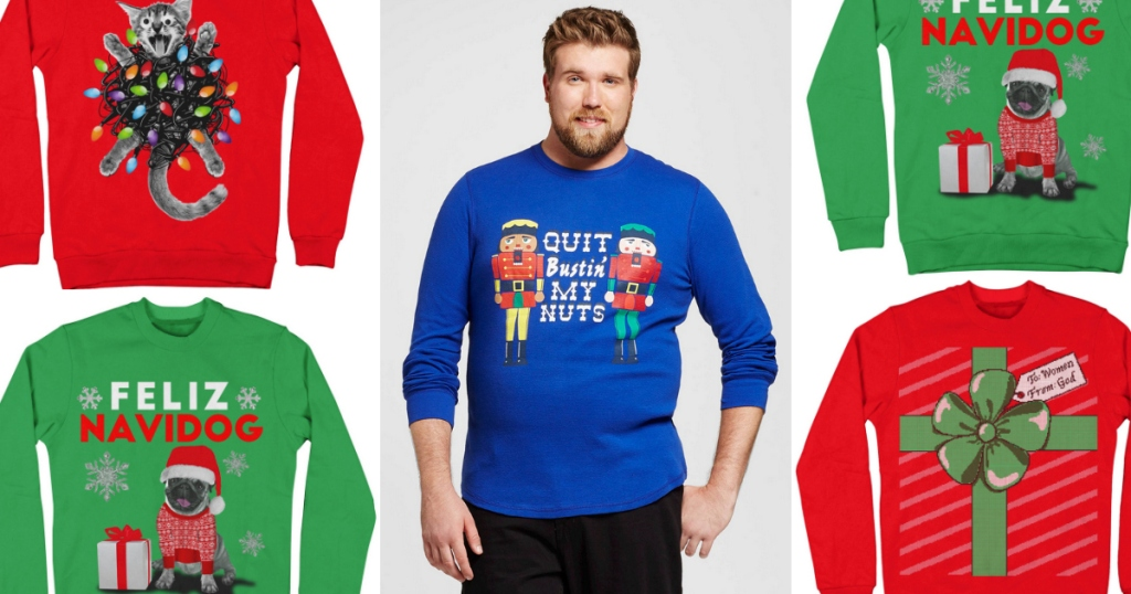 Targetcom Extra 40 Off Adult Sweaters Ugly Christmas Sweaters