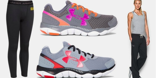 Under Armour: 25% Off Select Fleece, Hoodies, Footwear, ColdGear & More + Free Shipping