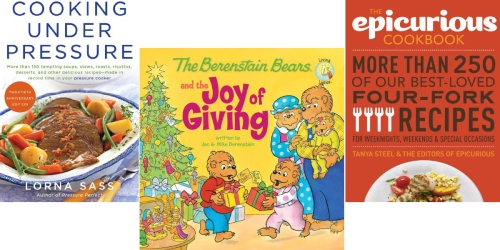Amazon: Huge Kindle Book Sale = Children's Books, Cookbooks & More As Low as 99¢