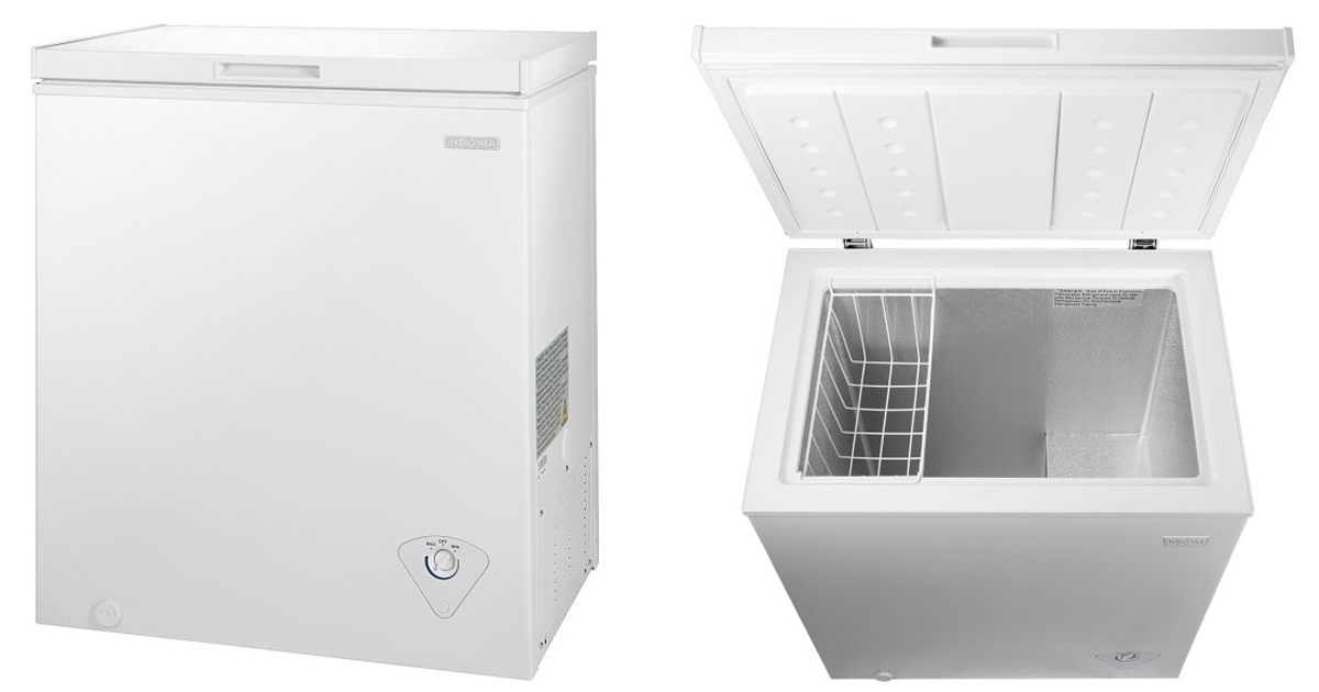 Best Buy Insignia 5 0 Cubic Foot Chest Freezer Only 139